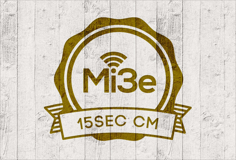 Mi3eの15秒CMができました